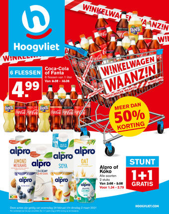 Hoogvliet reclame folder (geldig t/m 02-03)
