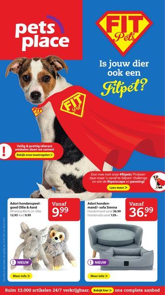 Pets Place reclame folder (geldig t/m 28-02)