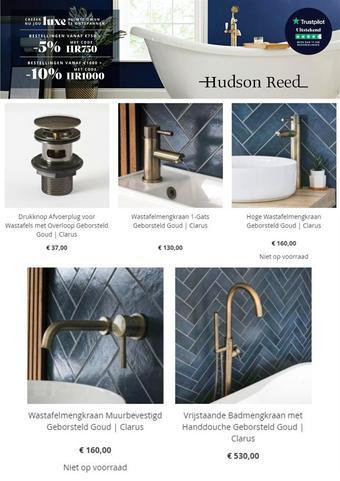 Hudson Reed reclame folder (geldig t/m 07-03)