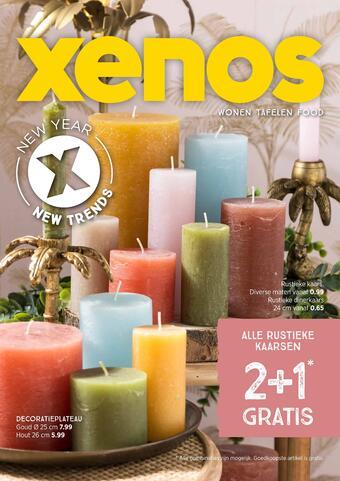 Xenos reclame folder (geldig t/m 28-02)