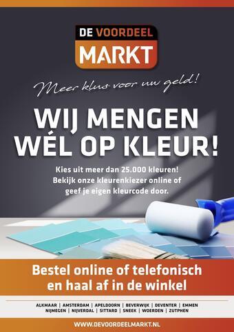 De voordeelmarkt reclame folder (geldig t/m 27-02)