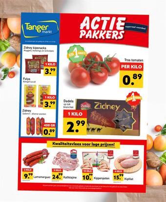 Tanger Markt reclame folder (geldig t/m 25-02)