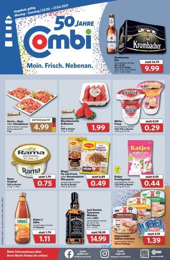 Combi Markt reclame folder (geldig t/m 27-02)