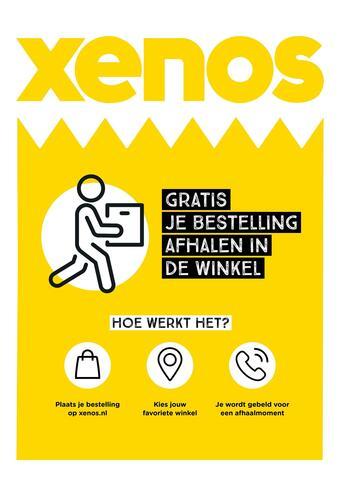 Xenos reclame folder (geldig t/m 07-03)