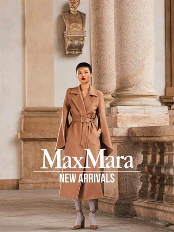 MaxMara reclame folder (geldig t/m 21-04)