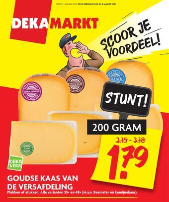 Dekamarkt reclame folder (geldig t/m 06-03)