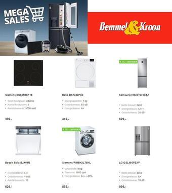 Bemmel & Kroon reclame folder (geldig t/m 04-03)
