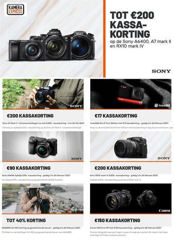 Kamera Express reclame folder (geldig t/m 28-02)
