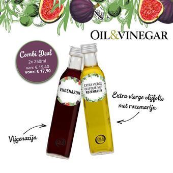 Oil and Vinegar reclame folder (geldig t/m 28-02)