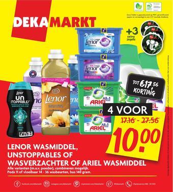 Dekamarkt reclame folder (geldig t/m 27-02)