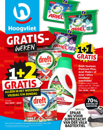 Hoogvliet reclame folder (geldig t/m 09-03)