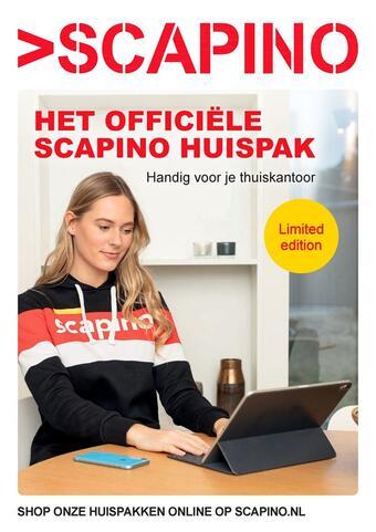 Scapino reclame folder (geldig t/m 28-02)