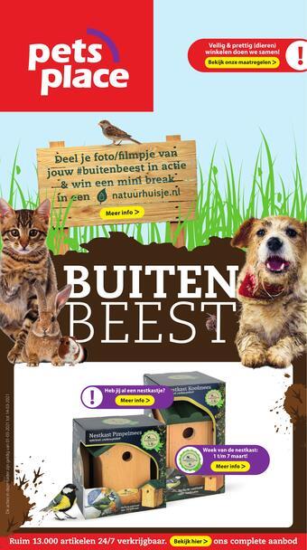 Pets Place reclame folder (geldig t/m 07-03)