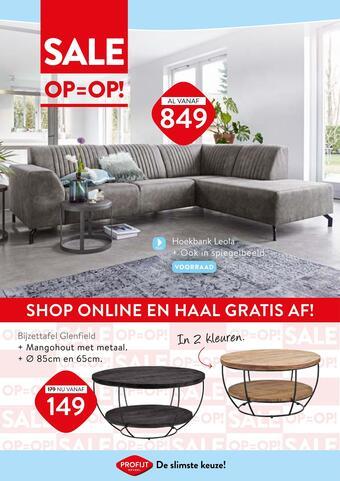 Profijt Meubel reclame folder (geldig t/m 04-03)