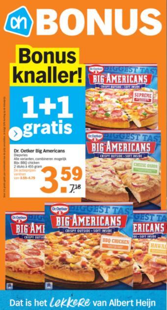 Albert Heijn reclame folder (geldig t/m 07-03)