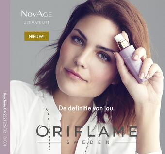 Oriflame reclame folder (geldig t/m 18-03)