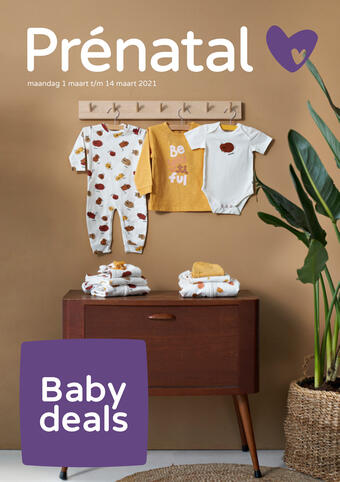 Prenatal reclame folder (geldig t/m 14-03)