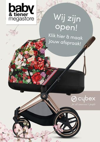 Baby & Tiener reclame folder (geldig t/m 06-03)