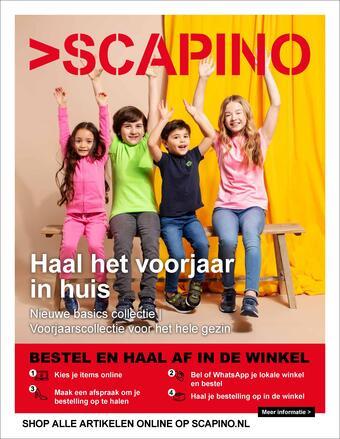 Scapino reclame folder (geldig t/m 14-03)