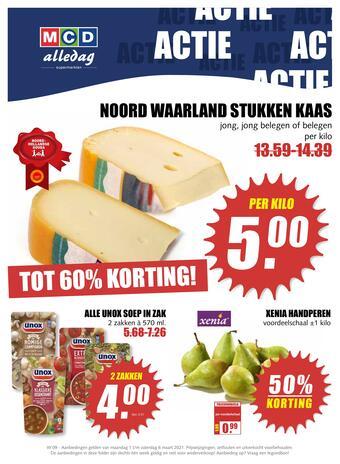 MCD Supermarkt reclame folder (geldig t/m 06-03)