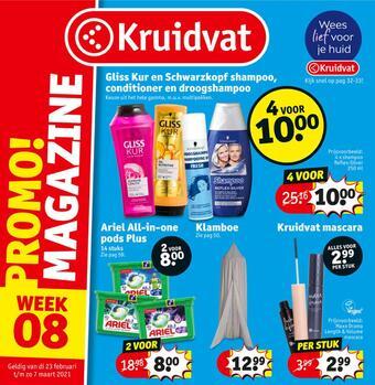 Kruidvat reclame folder (geldig t/m 07-03)