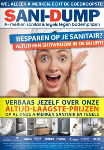 Sani-Dump reclame folder (geldig t/m 31-03)