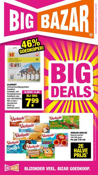Big Bazar reclame folder (geldig t/m 14-03)