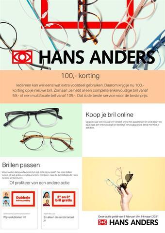 Hans Anders reclame folder (geldig t/m 14-03)