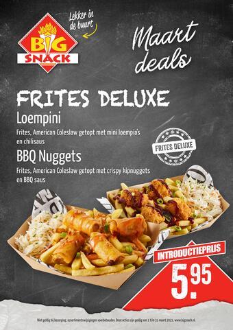 Big Snack reclame folder (geldig t/m 31-03)