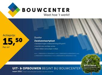 Bouwcenter reclame folder (geldig t/m 31-03)