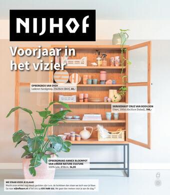 Nijhof reclame folder (geldig t/m 28-03)