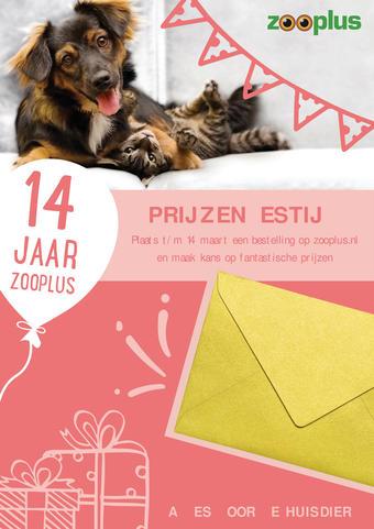 Zooplus reclame folder (geldig t/m 31-03)