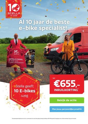 Stella fietsen reclame folder (geldig t/m 06-03)