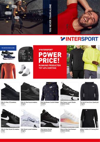 Intersport reclame folder (geldig t/m 15-03)
