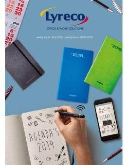 Lyreco reclame folder (geldig t/m 30-06)