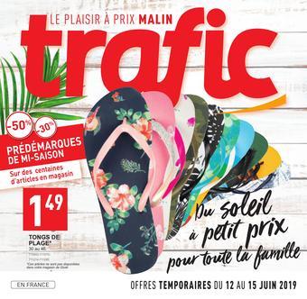 Trafic catalogue publicitaire (valable jusqu'au 17-06)