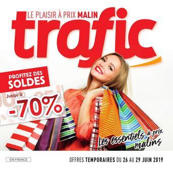 Trafic catalogue publicitaire (valable jusqu'au 30-06)