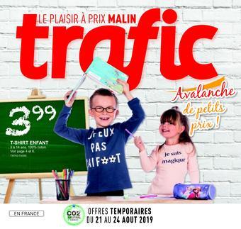 Trafic catalogue publicitaire (valable jusqu'au 27-08)