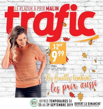 Trafic catalogue publicitaire (valable jusqu'au 01-10)