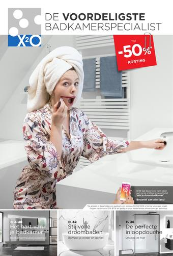 X2O reclame folder (geldig t/m 02-06)