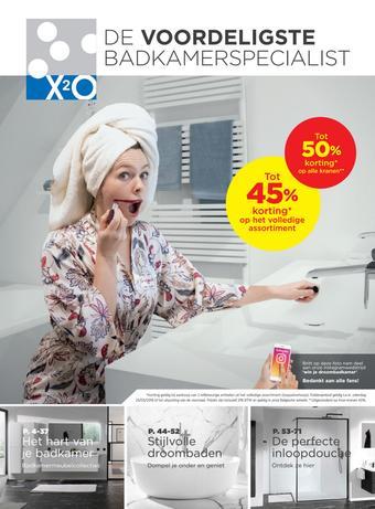 X2O reclame folder (geldig t/m 26-05)