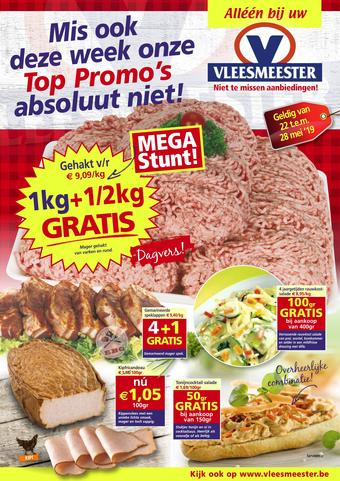 Vleesmeester reclame folder (geldig t/m 28-05)