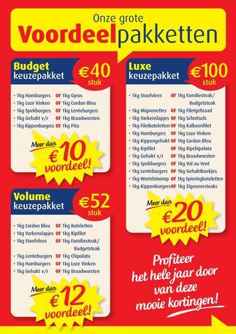 Vleesmeester reclame folder (geldig t/m 31-12)