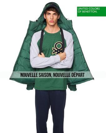 Benetton reclame folder (geldig t/m 23-10)