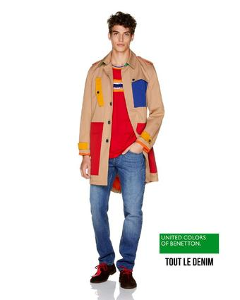 Benetton reclame folder (geldig t/m 11-11)