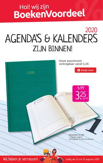 Boekenvoordeel reclame folder (geldig t/m 31-08)