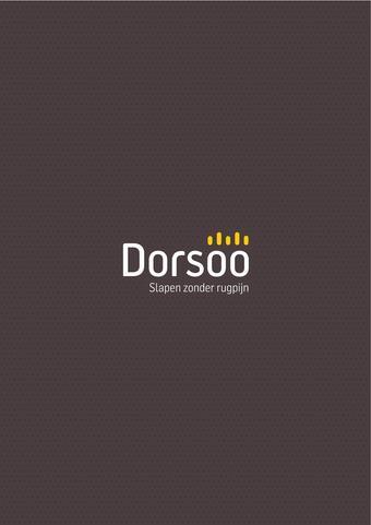 Dorsoo reclame folder (geldig t/m 31-12)