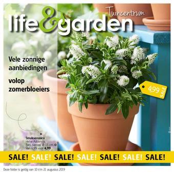 Life & Garden reclame folder (geldig t/m 21-08)