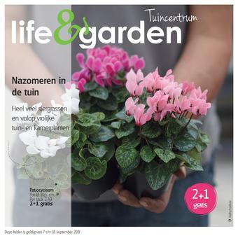 Life & Garden reclame folder (geldig t/m 18-09)