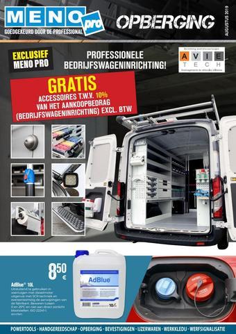Meno Pro reclame folder (geldig t/m 30-09)